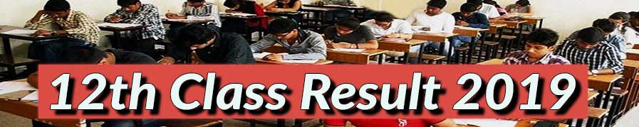12th class annual result 2019