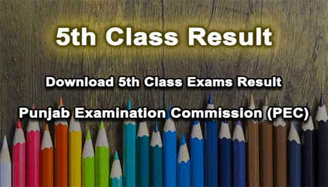 Download 5th Class Examination Result