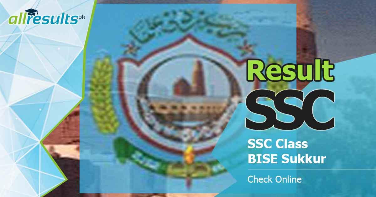 BISE Sukkur Board SSC Result