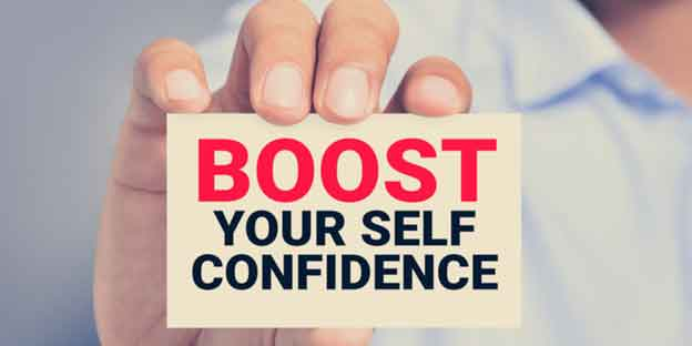 Help to boost your confidence