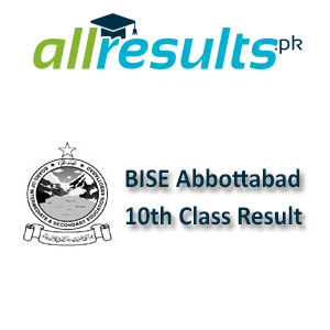 BISE Abbottabad Board 10th Class Result 2021