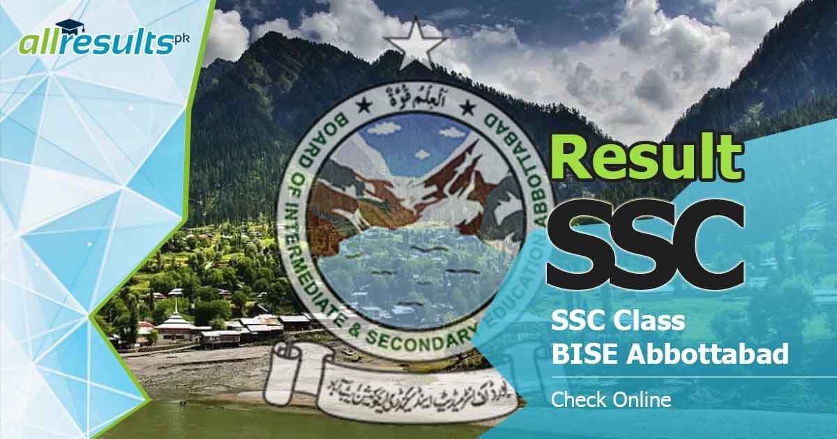 bise abbottabad board ssc result 2019
