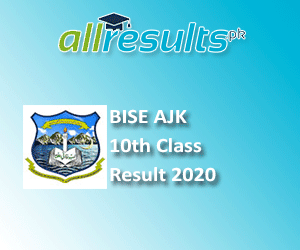 BISE AJK Board 10th Class Result 2020