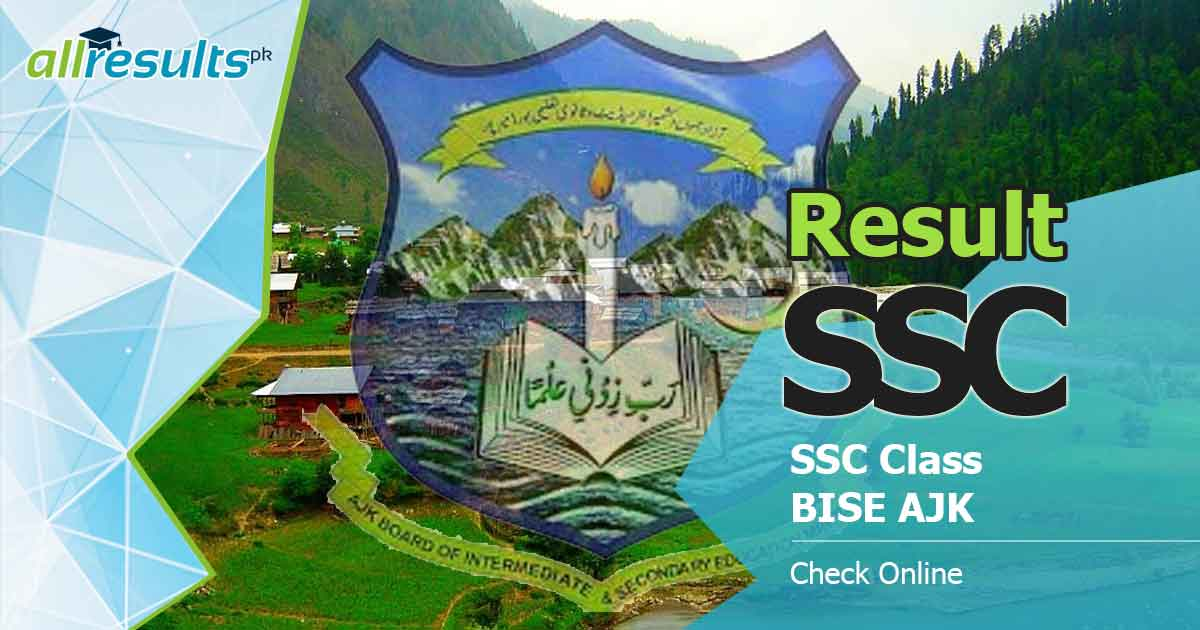 check ajk board ssc class result online