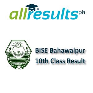 BISE Bahawalpur board 10th Class Result 2021