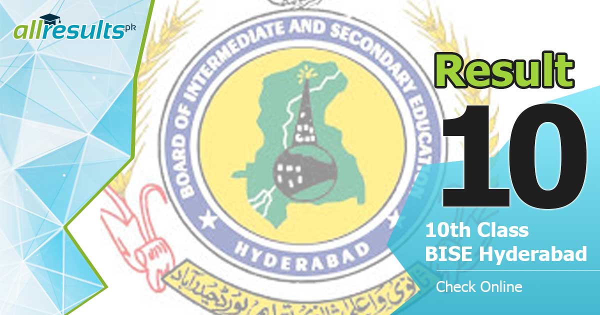 BISE Hyderabad 10th class exams result 2019