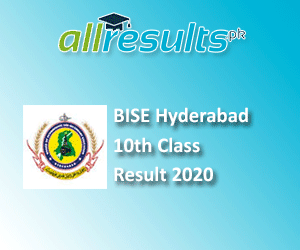 BISE Hyderabad Board 10th Class Result 2020