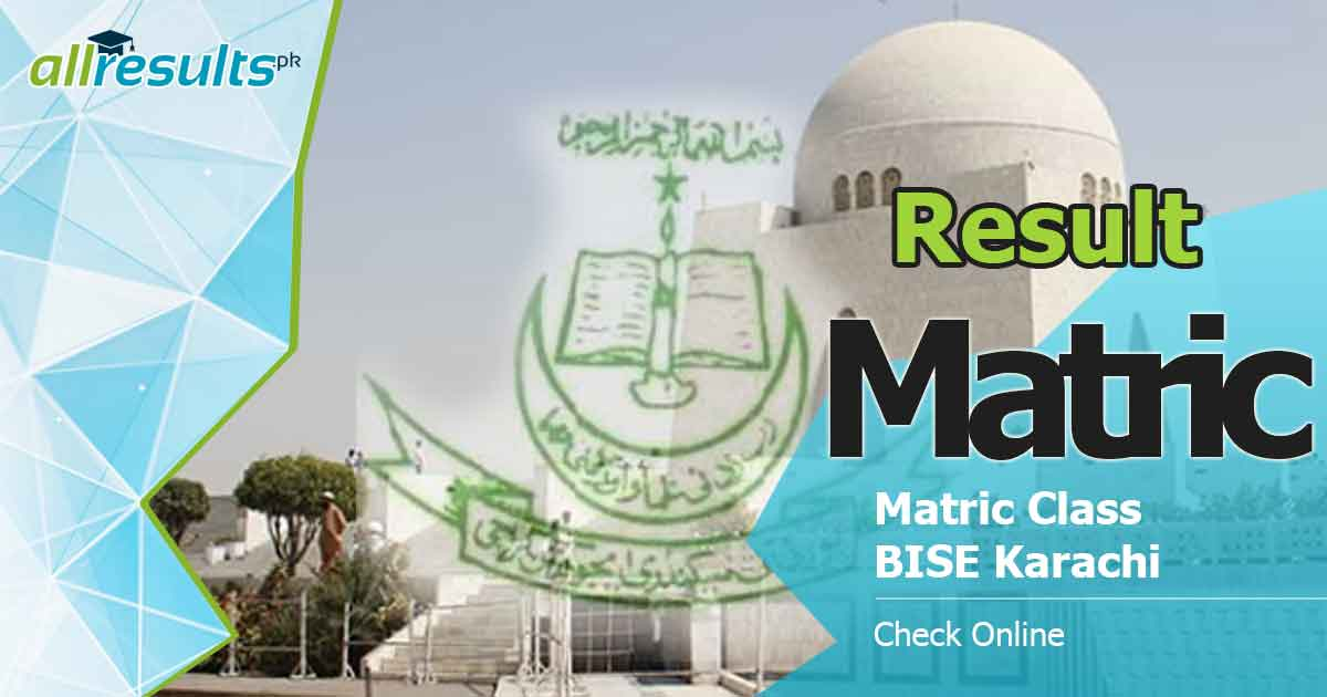 bsek karachi board matric result