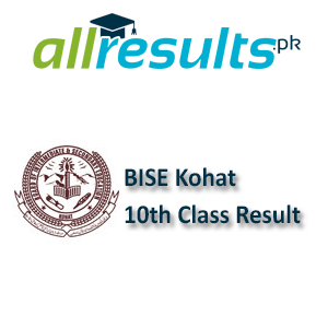 BISE Kohat Board 10th Class Result 2021
