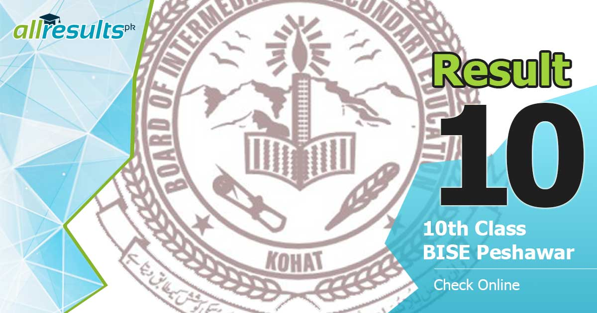 Kohat board 10 class result of 2019