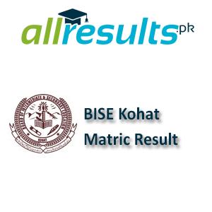 BISE Kohat Matric Exams Result 2021