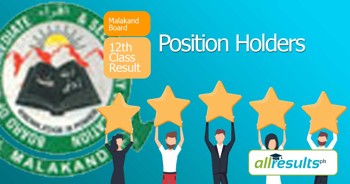BISE Malakand Inter Position Holders