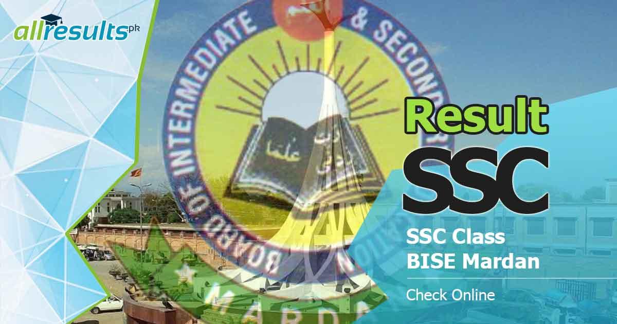 Mardan board ssc class result 2019