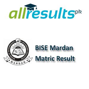 BISE Mardan Matric Exams Result 2021