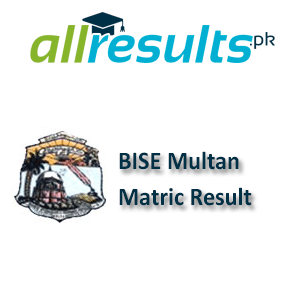 BISE Multan Matric Exams Result 2020