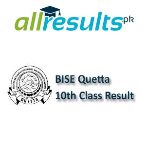 BISE Quetta Board 10th Class Result 2021