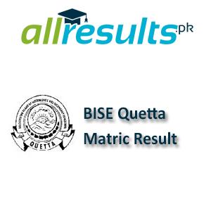 BISE Quetta Matric Exams Result 2021