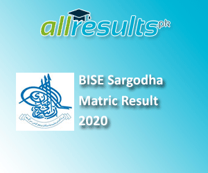 BISE Sargodha Matric Exams Result 2020