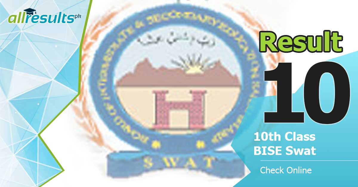 10 class result of swat board exams 2020