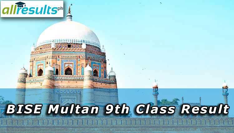 9th Class Result of BSIE Multan Board