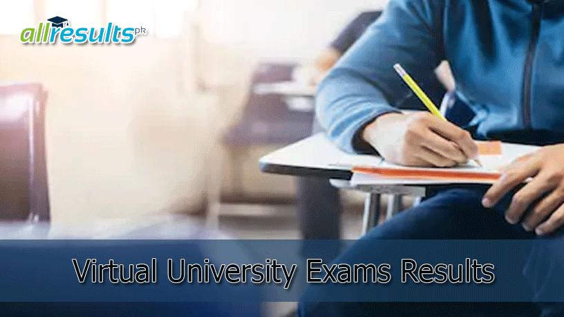 Virtual University Result 2021